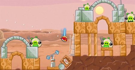 Angry Birds Star Wars primer gameplay