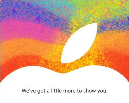 Apple envía las invitaciones para su evento del 23 de octubre
