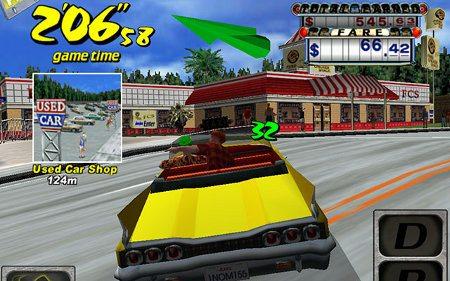Crazy Taxi llega a iOS