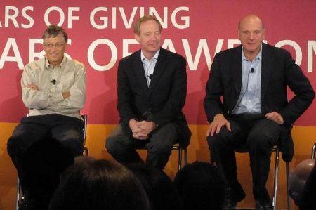 Empleados de Microsoft han donado más de 1000 millones de dólares