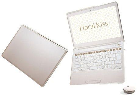Fujitsu Floral Kiss, nueva línea de laptops para chicas