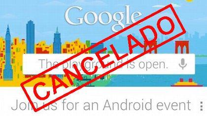 Google cancela su evento Android debido al huracán Sandy