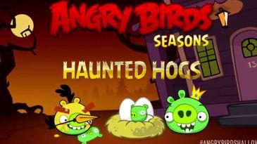 Haunted Hogs, el nuevo capítulo de Angry Birds Seasons