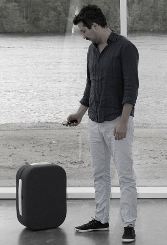 Hop, la maleta que te sigue automáticamente