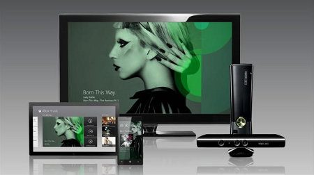 Microsoft anuncia Xbox Music