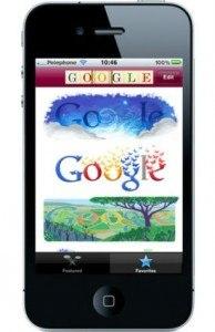 Mira todos los doodles de Google con esta app