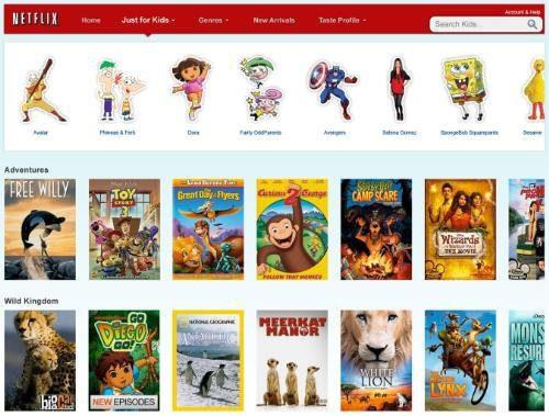 Netflix mueve la sección de solo para niños hacia el iPad