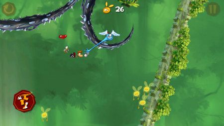 Rayman Jungle Run disponible para Android