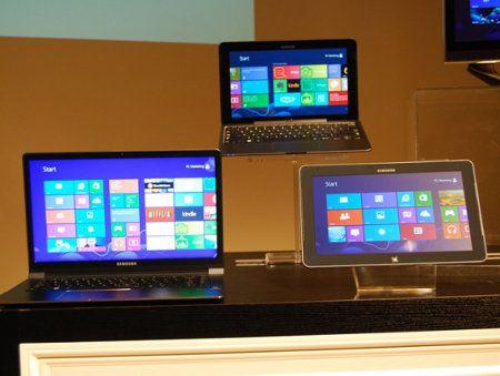 Samsung revela el precio de varios dispositivos Windows 8