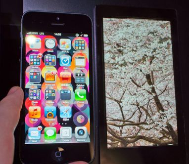 Sharp estrena pantalla Full HD para smartphones