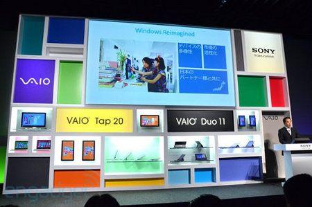 Sony le pone precio a sus equipos Windows 8 en Japón