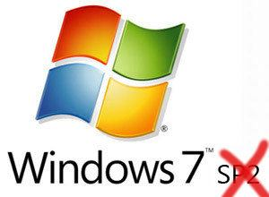Windows 7 no tendrá Service Pack 2