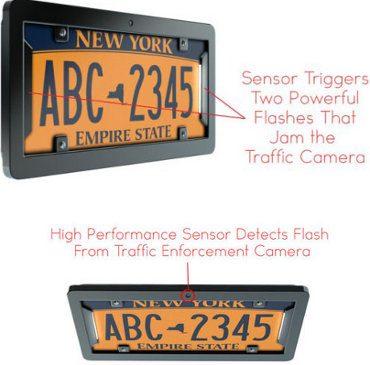 noPhoto, el sistema para evitar a las cámaras de tráfico