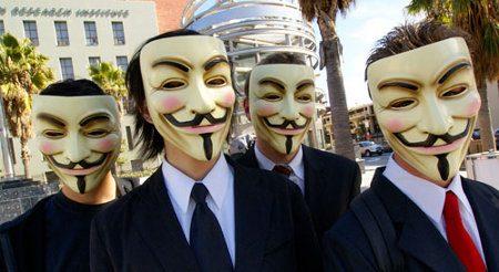 Anonymous ataca diversos sitios de la web