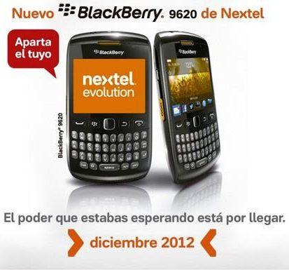 BlackBerry Patagonia 9620 filtrado