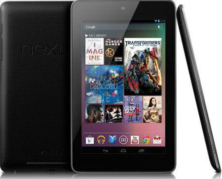 Google vende casi 1 millón de unidades del Nexus 7 cada mes