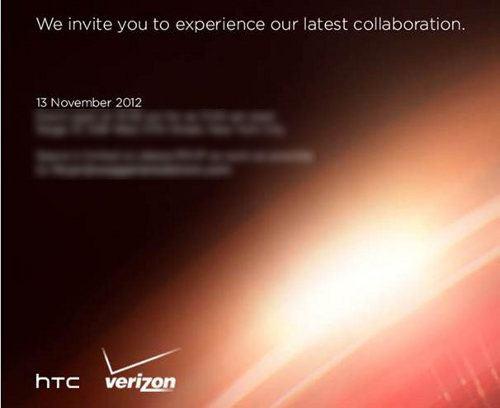HTC y Verizon preparan un evento para el 13 de noviembre