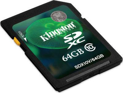 Kingston lanza nueva microSDXC de 64GB