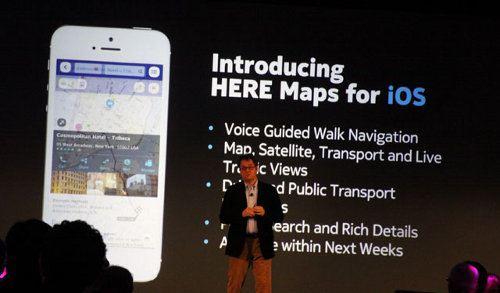 Nokia HERE Maps para iOS