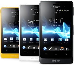 Sony Xperia Advance ya está a la venta