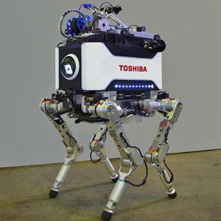 Toshiba presenta un robot para usar en casos de desastres nucleares
