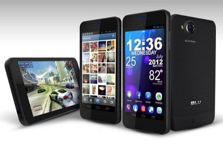 BLU Vivo 4.65 HD, un nuevo smartphone Android 4.0