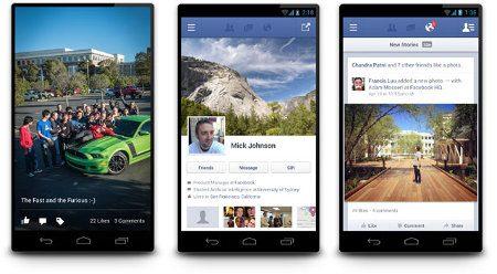 Facebook para Android 2.0, ahora más rápido que nunca