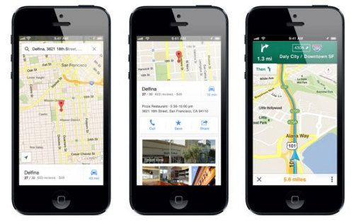 Google Maps ya disponible para iOS 6