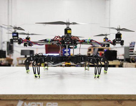 Hexapod Quadcopter, el robot arácnido volador
