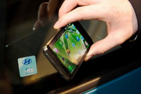 Hyundai está probando la tecnología NFC en autos y smartphones
