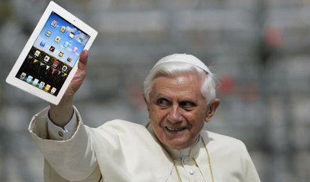 Incluso el Papa tiene una cuenta de Twitter