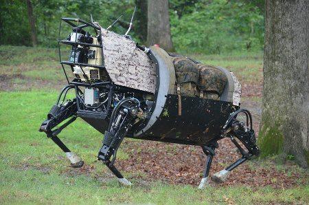 LS3, el robot de carga de la DARPA