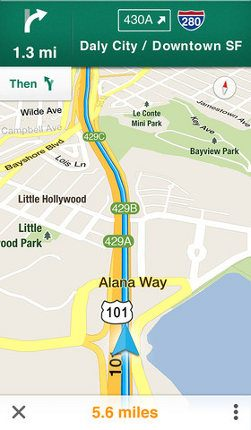 Más gente actualiza a iOS 6 gracias a Google Maps