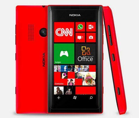 Nokia Lumia 505, nuevo smartphone WP de gama media