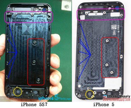 Posibles fotos del iPhone 5S