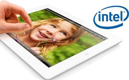 Procesadores Intel serían usados en los futuros iPad y iPhone