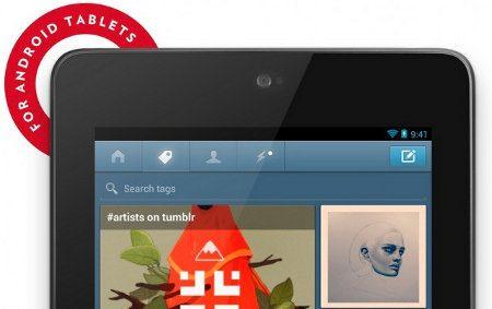 Tumblr ya cuenta con su app para tablets