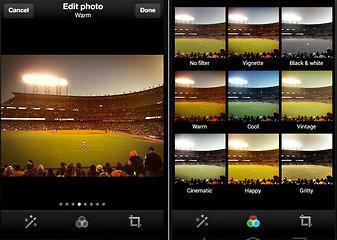 Twitter anuncia filtros para fotos