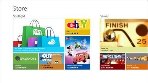 Windows 8 Store ahora tiene 35.000 apps