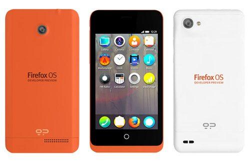 Anunciado el móvil para desarrolladores de Firefox OS