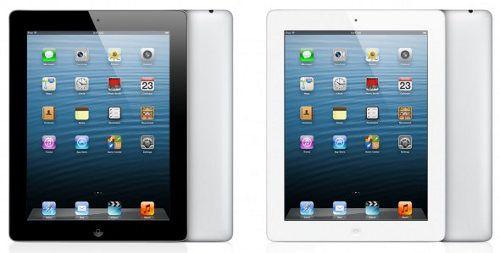 Apple pronto introduciría un iPad 4 de 128GB