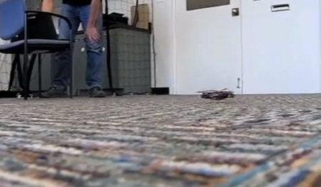 Este robot es capaz de imitar la velocidad de las patas de una cucaracha