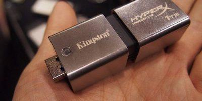 Kingston estrena memorias flash USB 3.0 de 1TB