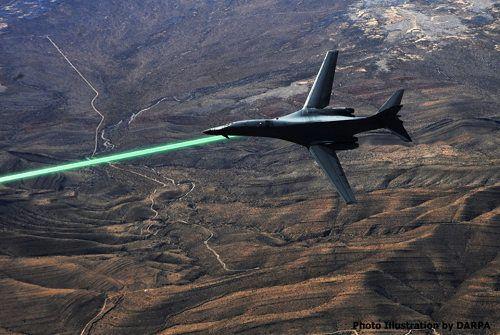 La DARPA equipará a los aviones con torretas láser