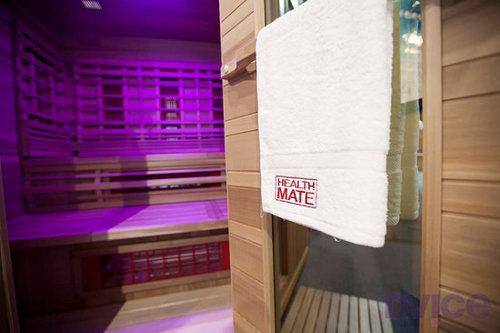 Mira este sauna que usa tecnología infrarroja