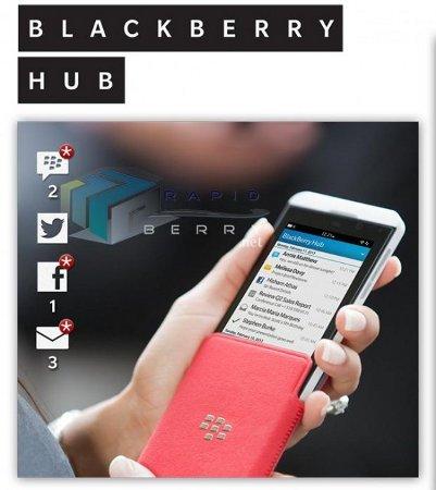 Se filtran imágenes promocionales de BlackBerry 10