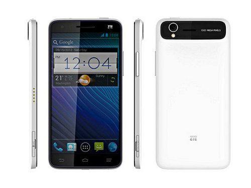 ZTE Grand S, nuevo smartphone de 5 pulgadas con pantalla Full HD y Android 4.1