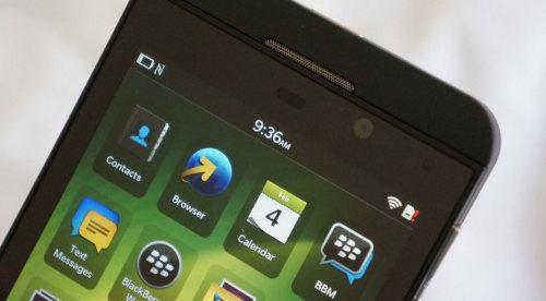El BlackBerry Z10 se vuelve muy popular