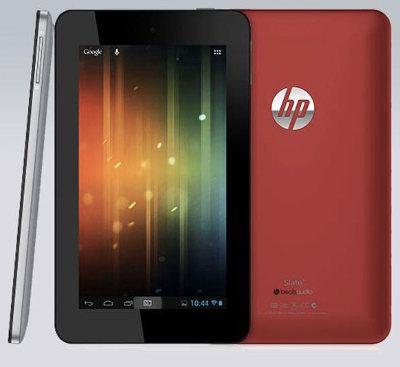 HP presenta el Slate 7, su primer tablet Android