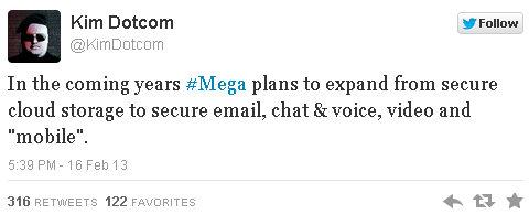 Mega comenzará a ofrecer nuevos servicios